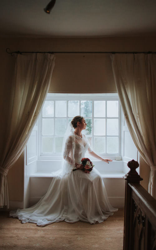 Winter Wedding at Salmestone Grange