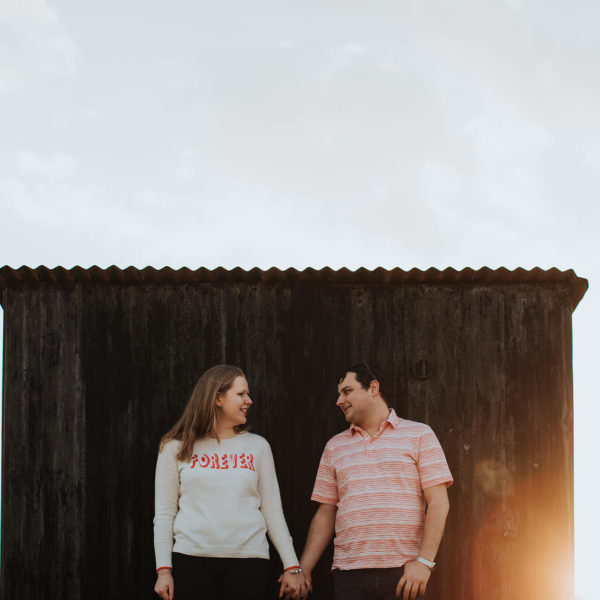 Dungeness Pre-Wedding with Abby and Kristian