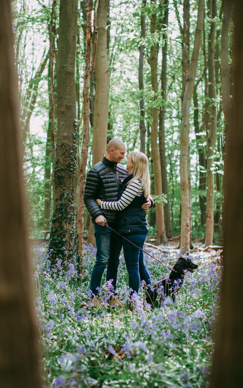 Woodland Pre-Wedding with Joanne + Will